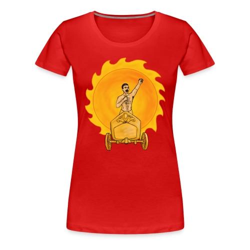 Rock God Freddy - Women's Premium T-Shirt