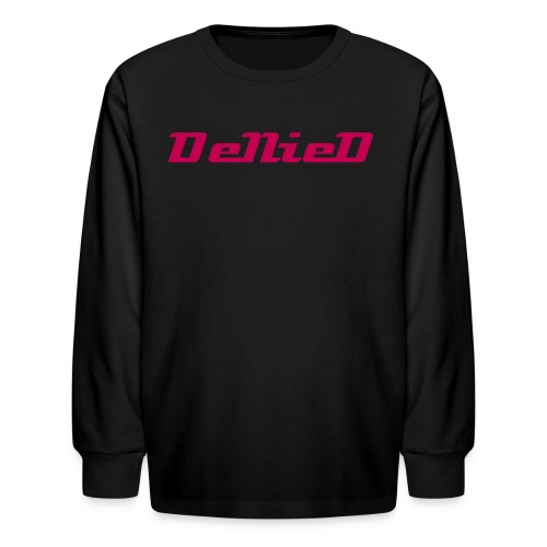 The DeNieD Long Sleeve Tee For Children - Kids' Long Sleeve T-Shirt