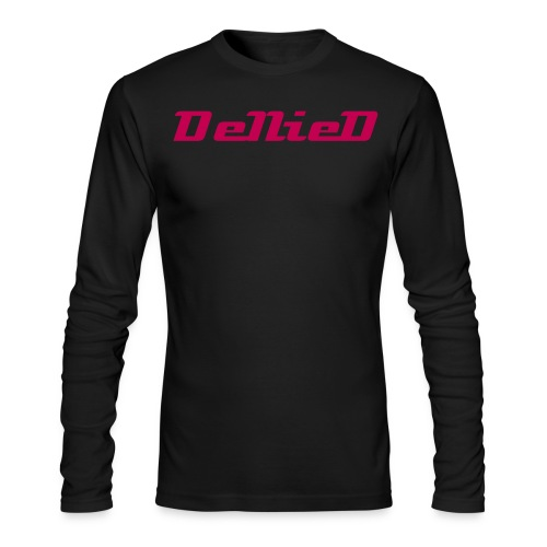 The DeNieD Long Sleeve Tee For Men - Men's Long Sleeve T-Shirt by Next Level