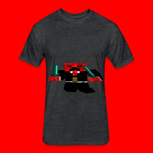 Men's Fitted Cotton/Poly T-Shirt - Fitted Cotton/Poly T-Shirt by Next Level