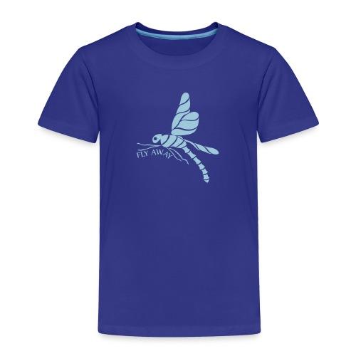 Fly Away Dragonfly Toddler Premium T-Shirt - Toddler Premium T-Shirt
