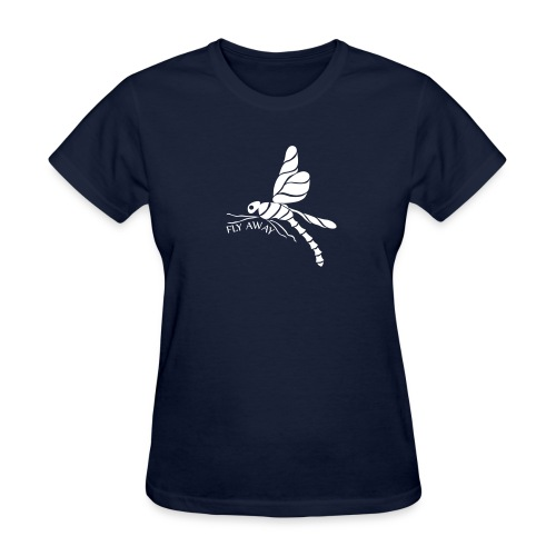 Fly Away Dragonfly Women's T-Shirt - Women's T-Shirt