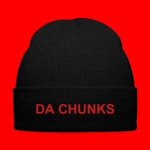 DA CHUNKS Beanie Hat - Knit Cap with Cuff Print