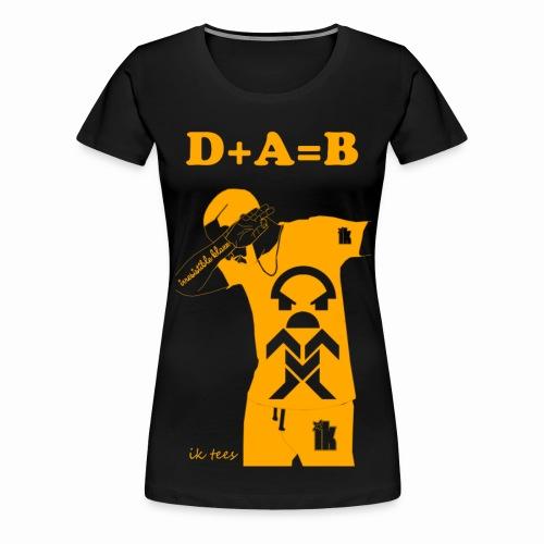 Female Golden Edition DAB - Women's Premium T-Shirt