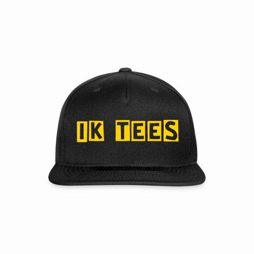 Golden Edition ik Snap Back - Snap-back Baseball Cap