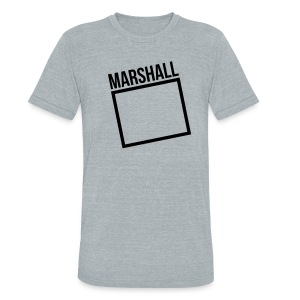 Marshall Square - Unisex Tri-Blend T-Shirt by American Apparel