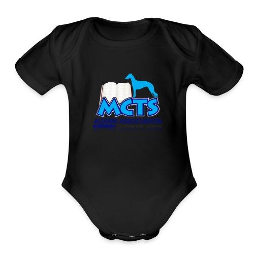 MCTS Alumni Baby Girl Whippets - Organic Short Sleeve Baby Bodysuit
