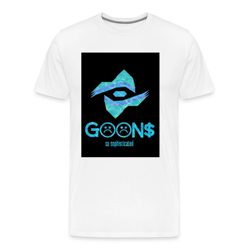 Goons All Seeing Black Logo - Men's Premium T-Shirt
