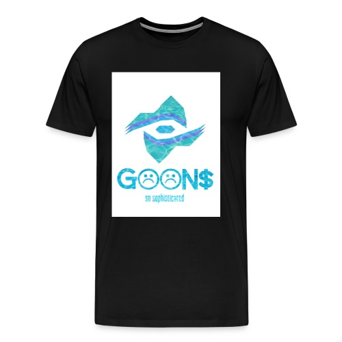 Goons All Seeing White Logo - Men's Premium T-Shirt