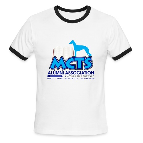MCTS Alumni Tshirt - Men's Ringer T-Shirt