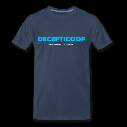 Decepticoop Men's Tee Shirt - Men's Premium T-Shirt