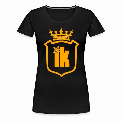 Golden Edition ik Crown  - Women's Premium T-Shirt