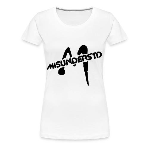 Misunderstd T-shirt - WOMEN'S - Women's Premium T-Shirt