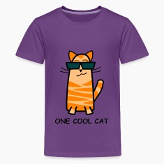 One Cool Cat Child's T-Shirt