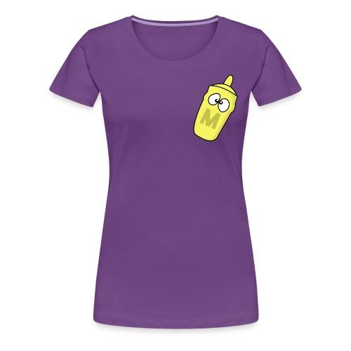 nomustardLADYSHIRT - Women's Premium T-Shirt