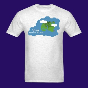 Mercay Island Tourism - Men's T-Shirt