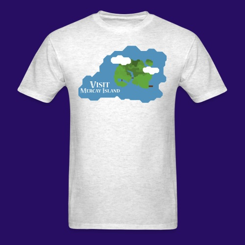 Mercay Island Tourism - Men's T-Shirt