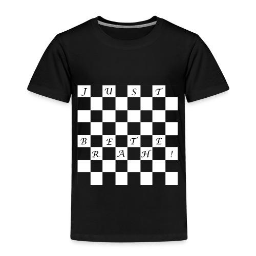 Just breathe - Kids Chess Tshirt - Toddler Premium T-Shirt