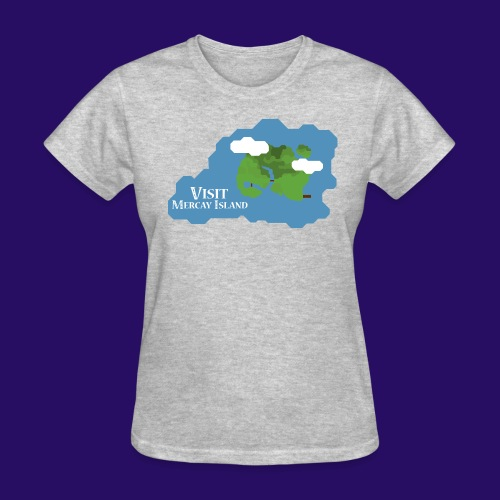 Mercay Island Tourism - Women's T-Shirt