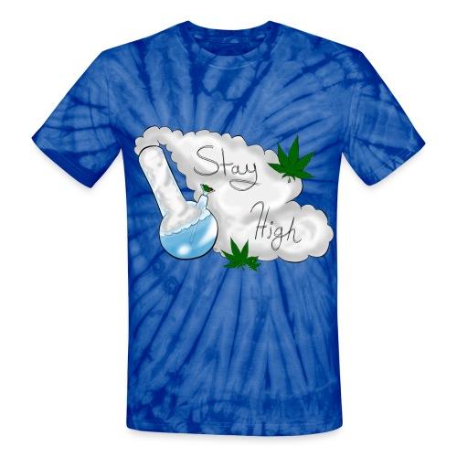 Stay High Tie Dye - Unisex Tie Dye T-Shirt