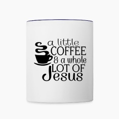 Lil' Coffee Lot of Jesus Mugs & Drinkware