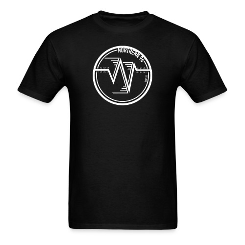 Northern 96 White Circle Logo T-Shirt - Men's T-Shirt