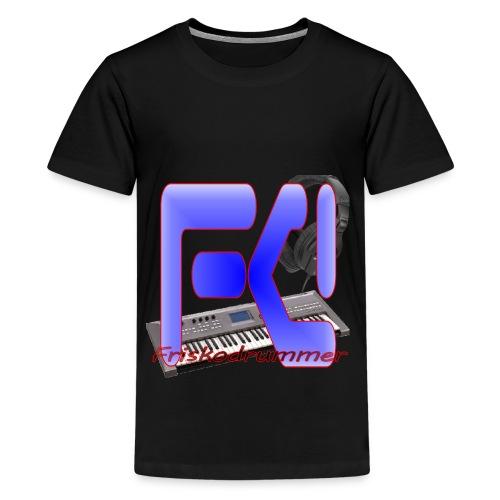Black Friskodrummer Tee (Kids) - Kids' Premium T-Shirt