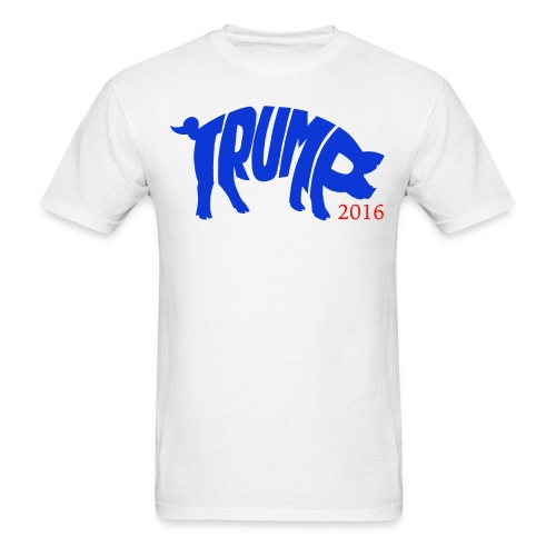 Trump4pig - Men's T-Shirt