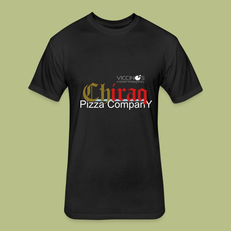 Chi-Raq Pizza - Fitted Cotton/Poly T-Shirt by Next Level