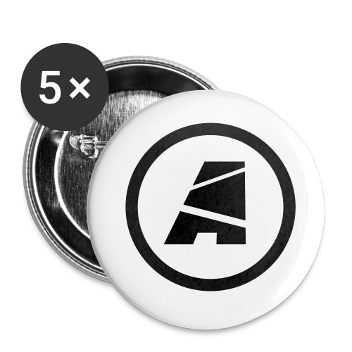 Logo Buttons (5 pack) - Small Buttons