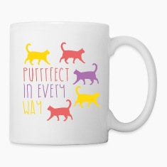 AD Purrfect in every way Mugs & Drinkware