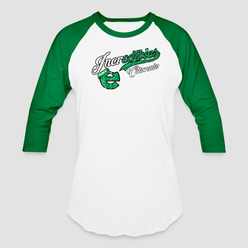 incredibles Athletic Retro Men's Raglan 3/4 sleeve baseball shirt - Baseball T-Shirt