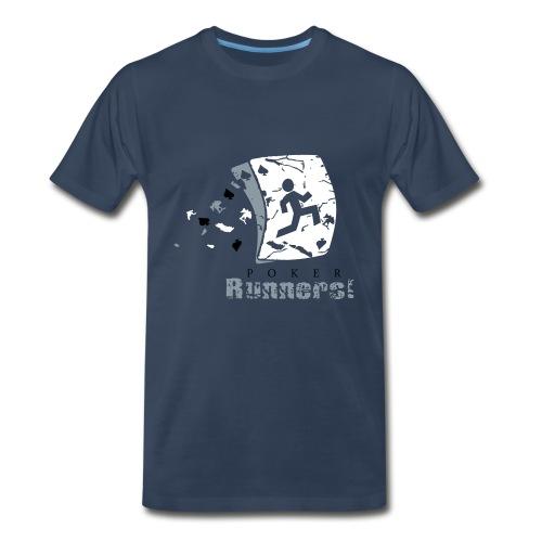 Poker Runners! - Men's Premium T-Shirt