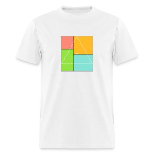 attic Multicolor Logo Tee - Men's T-Shirt