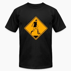 Soccer Road Sign T-Shirts