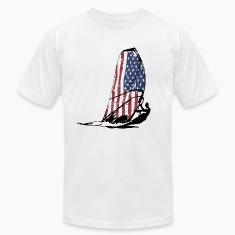 USA Surfing - Vintage Flag T-Shirts