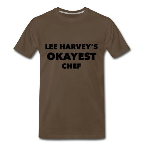 Okayest Chef - Men's Premium T-Shirt