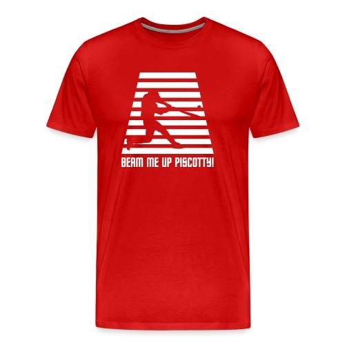 Beam me up Piscotty! - Men's Premium T-Shirt