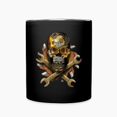 skull mechanik Mugs & Drinkware