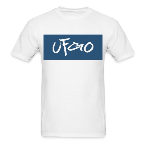 UFGO Shirt (Blue Bar) - Men's T-Shirt