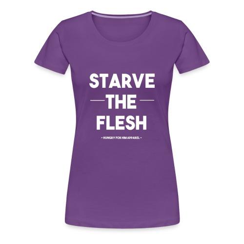 Flesh vs Spirit - Women's Premium T-Shirt