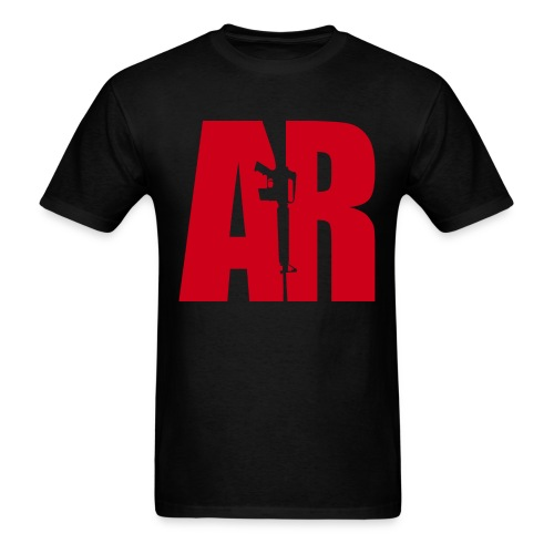 AR15 RED - Men's T-Shirt