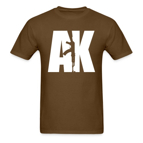 AK47 WHITE - Men's T-Shirt