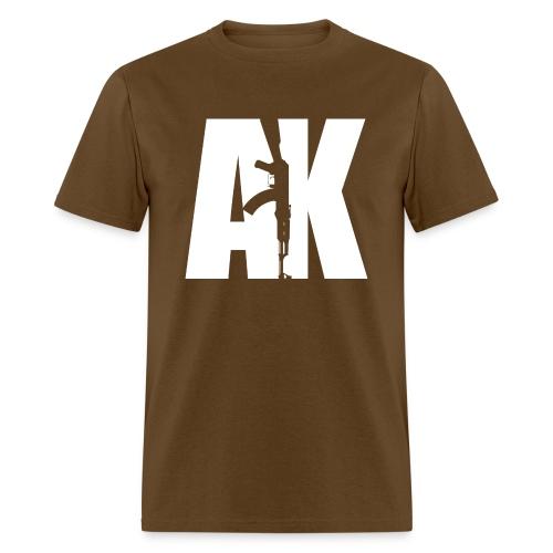 AK47 WHITE - Men's T-Shirt