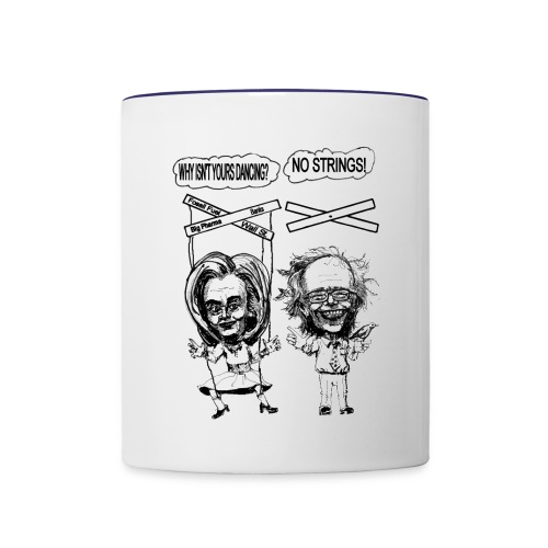 Coffee Mug Democratic Opponents - Contrast Coffee Mug