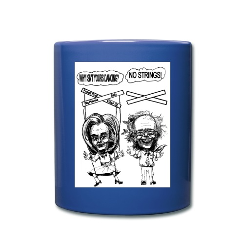 Blue Coffee Mug Democratic Primary Satire - Full Color Mug