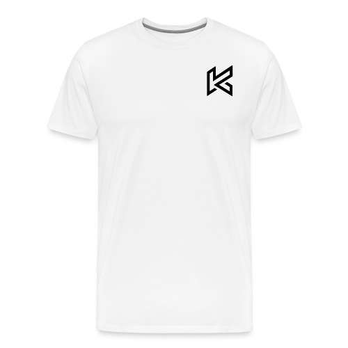 Black Corner Logo - Men's Premium T-Shirt