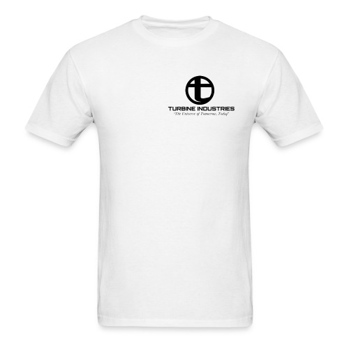 State Troopers 'Turbine Industries' Mens T-Shirt - Men's T-Shirt