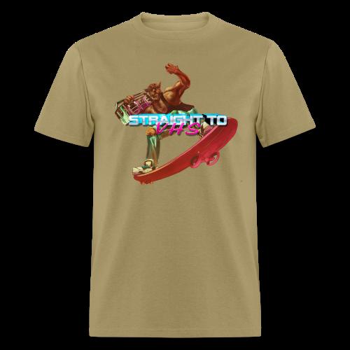 MEN'S Skating Werewolf - Men's T-Shirt