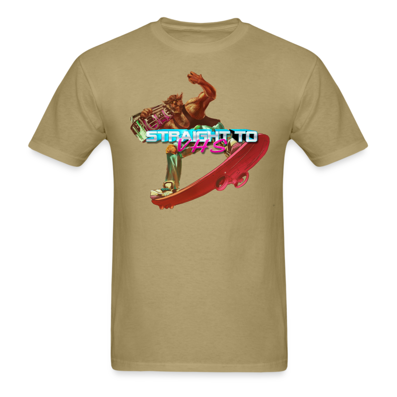 MEN'S Skating Werewolf - Men's T-Shirt